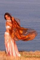 Фото танца с шалью