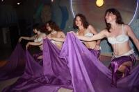 Танец живота с шалью