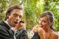Молодожены Дмитрий и Екатерина