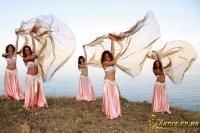 Нежный восточный танец с шалью