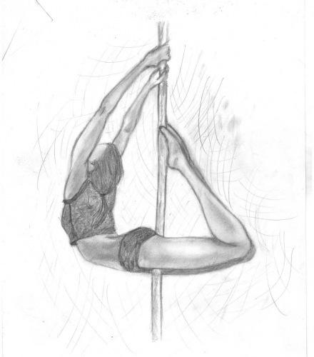 картинки танцы нарисованные